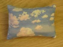 Back of inner pillow