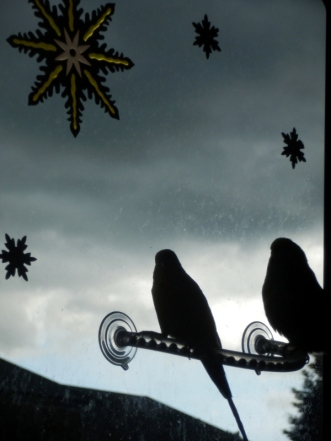 Dalai & Bezukhov & the storm clouds